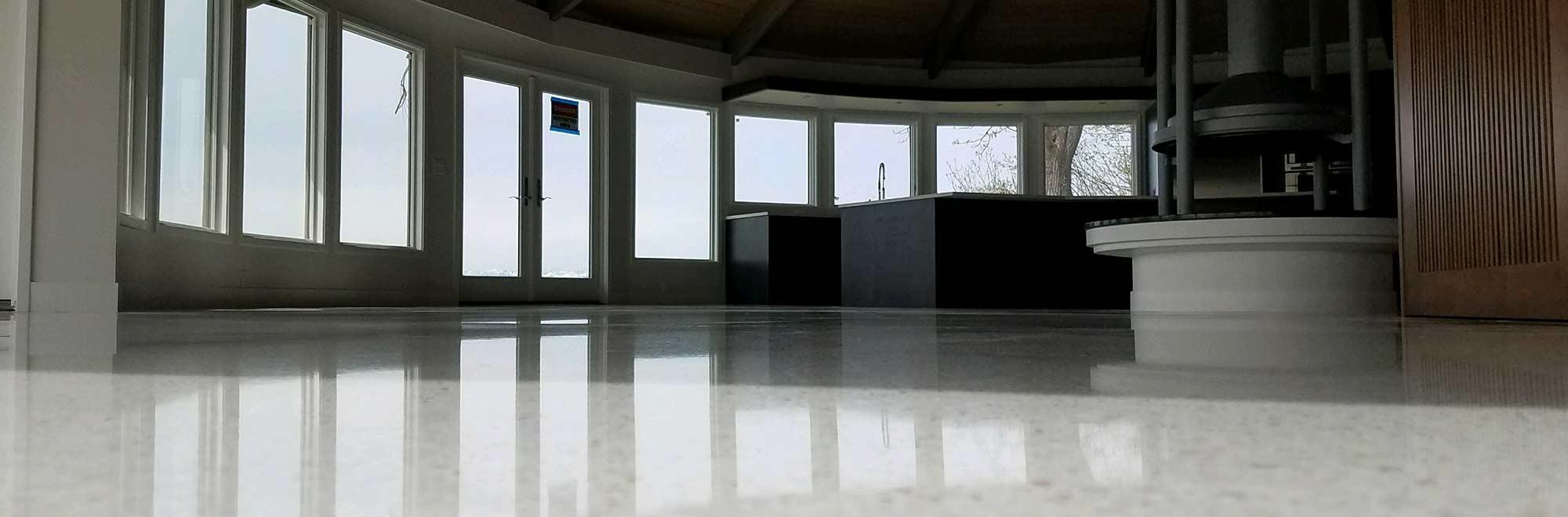 Spectrum Terrazzo flooring